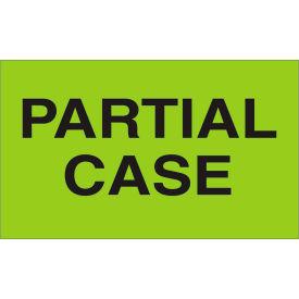 "Partial Case 3"" x 5"" - Fluorescent Green / Black"