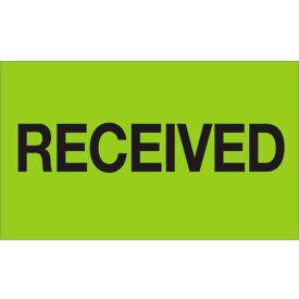 "Received 3"" x 5"" - Fluorescent Green / Black"