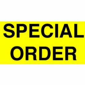 """Special Order 3"""" x 5"""" - Bright Yellow / Black"""