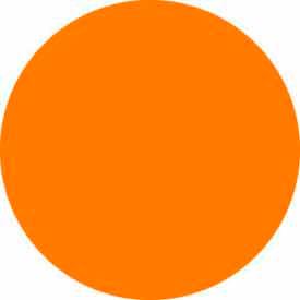 """Fluorescent Orange Discs 1/2"""" Dia."""