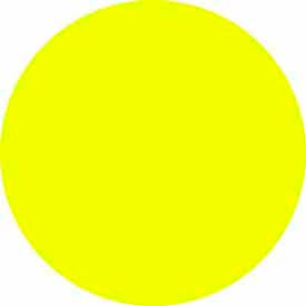 """Bright Yellow Discs 3/4"""" Dia."""