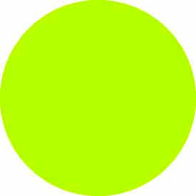 "Fluorescent Green Discs 3/4"" Dia."