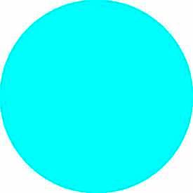 "Light Blue Discs 3/4"" Dia."