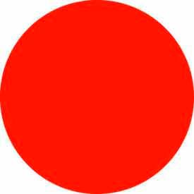 """Fluorescent Red Discs 1"""" Dia."""
