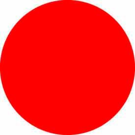 "Standard Red Discs 1"" Dia."