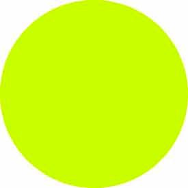 "Fluorescent Chartruse Discs 1-1/2"" Dia."