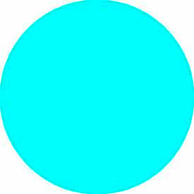 "Light Blue Discs 1-1/2"" Dia."