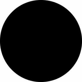 """Black 2"""" Dia. Discs"""