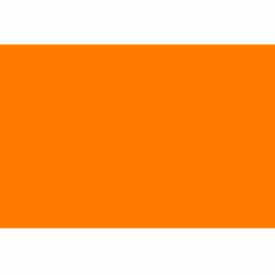 "Fluorescent Orange 3"" x 5"""