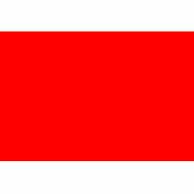 "Standard Red 3"" x 5"""