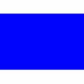 "3"" x 6"" Dark Blue Rectangle"