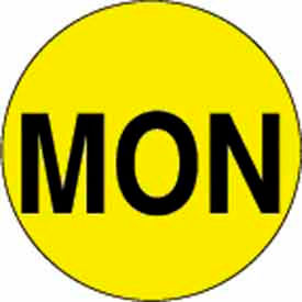 "Mon 1"" Dia. - Bright Yellow / Black"