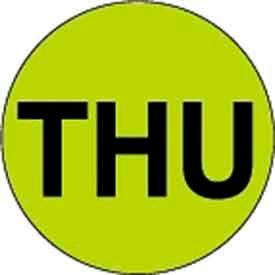 "Thu 1"" Dia. - Fluorescent Green / Black"