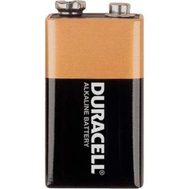 Duracell® Coppertop®  9V Batteries W/ Duralock Power Preserve™ - Pkg Qty 12