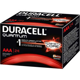 Duracell® QU2400BKD Quantum AAA Alkaline Battery - Pkg Qty 24