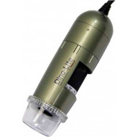 Dino-Lite AM4113ZTL Handheld Digital Microscope with Adjustable Polarizer, 1.3 MP, 10x - 90x