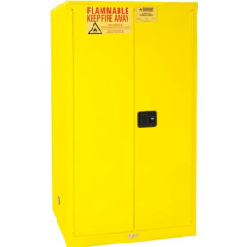 Durham Flammable Safety Cabinet With Manual Close Door 60 Gallon