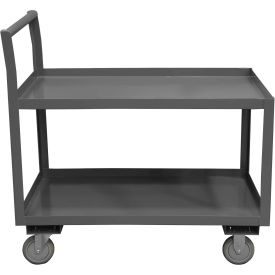 Durham Mfg.® Low Deck Service Cart LDO-2436-2-ALU-95 - All Lips Up 1200 Lb. Capacity