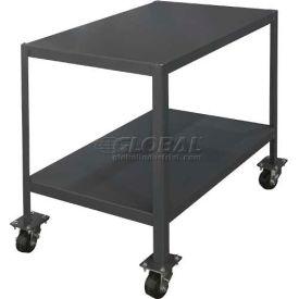 "Durham MT364836-3K295 48""W X 36""D X 36""H Machine table with 1 shelf"