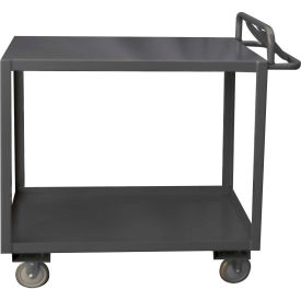 Durham Mfg.® Stock Cart RSCE-2448-2-3.6K-TLD-95 with Ergo Handle - Top Lips Down 3600 Lb. Cap.