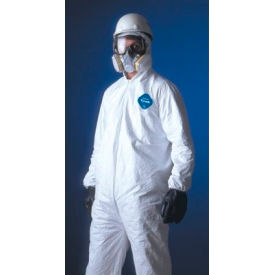 Tyvek® Coveralls, DUPONT TY125S-2XL, Case Of 25