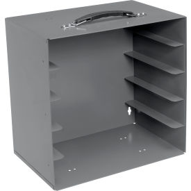 Rack for Large Plastic Compartment Boxes