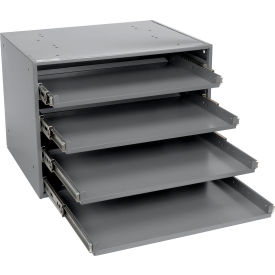 Durham Heavy Duty Bearing Rack 303B-15.75-95 - For Large Compartment Boxes - Fits Four Boxes