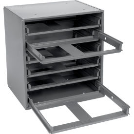 Durham Slide Rack 308-95 - For Small Compartment Storage Boxes - Six Drawer