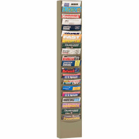 20 Pocket Medical Chart & Special Purpose Literature Rack - Putty