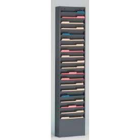20 Pocket Medical Chart & Special Purpose Literature Rack - Gray
