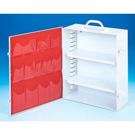 First Aid Cabinet 2-Shelf - 15-x5-9/16x16-5/32