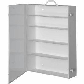 First Aid Cabinet 5-Shelf - 19-1/2x5-1/2x26