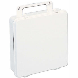 First Aid Box Polystyrene - 9-3/16x2-3/4x9-3/16 - Pkg Qty 12