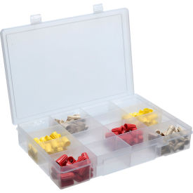 Large Plastic Compartment Box - 16 Compartments