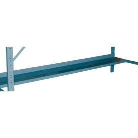 "Durham WB-SHELF-72-95 72""W x 12""D Shelf for All Folding Leg Workbenches - Gray"