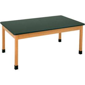 "Diversified Woodcrafts Plain Apron Science Table 60""L x 30""W - Epoxy Top"