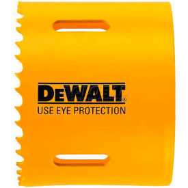 "DeWALT Bi-Metal Hole Saw, D180054, 3-3/8"" Hole Size, 100 RPM"