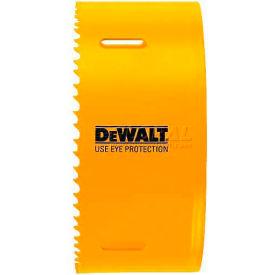 "DeWALT Bi-Metal Hole Saw, D180072, 4-1/2"" Hole Size, 75 RPM"