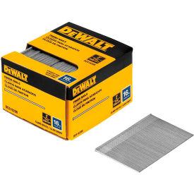 """DeWalt Straight Finish Nails, DCS16200, 16 Gauge, 2""""L, 2500/Box - Pkg Qty 4"""