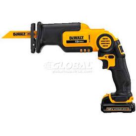 """DeWALT® Pivot Reciprocating Saw Kit, DCS310S1, 12VMAX*, 0-2700 SPM, 9/16""""L Stroke"""