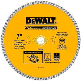 "DeWALT® Extended Performance™ Turbo Blade, DW4702B, 7"" Diameter, 8700 RPM - Pkg Qty 10"