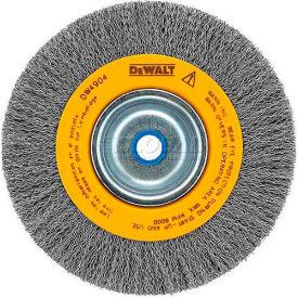 "DeWALT HighPerformance™ Bench Grinder Brush, DW4904, 6"" Diameter, 5/8""-1/2"" Arbor, 6000 RPM"