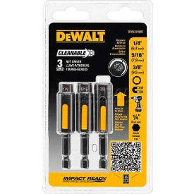 "DeWALT Impact Ready Cleanable Nut Driver, DWA2240IR, 1/4"", 5/16"",..."
