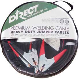 Direct Wire 4/2 Jumper Cable Kit, 16 FT 500 AMP