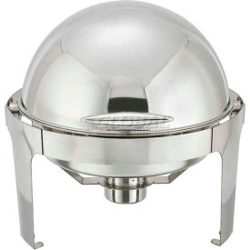 Winco 602 Round Chafer, 11 Qt., Stainless Steel by