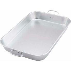 Winco ALBP-1218 Aluminum Bake Pan w/Drop Hand - Pkg Qty 6