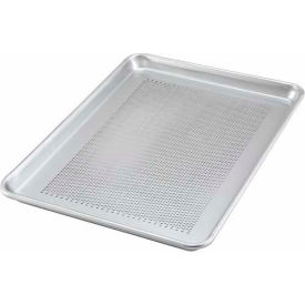 "Winco ALXP-1318P, Sheet Pan, Aluminum, Perforated, 18 Ga., 13"" x 18"" - Pkg Qty 12"