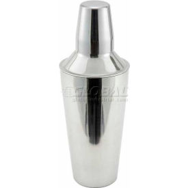 Winco BS-3P Bar Shaker, 28 Oz., 3 Piece Package Count 12 by