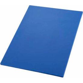 """Winco CBBU-1824 Cutting Board, 18""""L, 24""""W, 1/2""""H, Blue - Pkg Qty 6"""