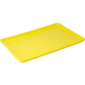 Winco FFT-1826YL Plastic Sheet Tray - Pkg Qty 6